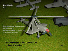 "Messerschmitt Bf 109 E-4/ts ""Autogyro""   1/72 Bird Models Umbausatz / conversion"