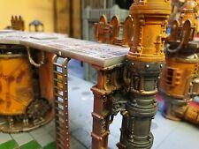 Warhammer 40k terrain - Sector Mechanicus pipe extenders