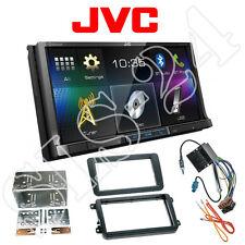 JVC Doppel-DIN DVD USB Bluetooth Radio VW Tiguan Touran T5 Multivan Radioblende