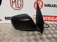 NISSAN NAVARA D40 2005-2014 O/S RIGHT WING MIRROR IN PLAIN BLACK, ELECTRIC