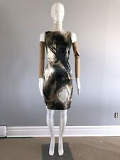 ESPRIT Collection Print patterns Midi Fitted Evening Dress sz 38 IT, 4 U.S