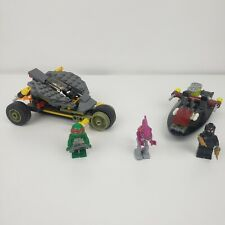 Lego TMNT Stealth Shell In Pursuit 79102 Complete No Book No Box 3 Figures
