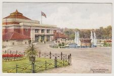 Dorset postcard - Pavilion & Fountains, Bournemouth - ARQ No. 3593 - P/U 1950