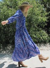 Spell Designs BNWT Sz L Celestial City Lights Gown Indigo - Authentic Spell Item