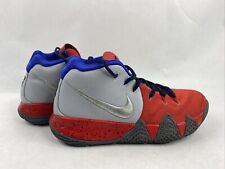 7 MEN'S NIKE KYRIE IRVING ID BASKETBALL SHOES AR3867-994 RED WHITE BLUE SNEAKERS
