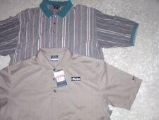 2 NIKE GOLF atheltic polo shirt lot BOTH MEN'S LARGE