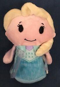 """Hallmark Disney Frozen Elsa Itty Bittys 4.5"""" Plush 2014"""