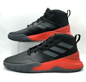Adidas Men's Basketball OWNTHEGAME Black-Scarlet Red  Shoes EG0951 Size 13