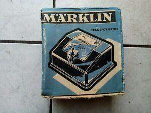 Märklin -ein alter Trafo-70 -80 er Jahre -sieh ## Modell 2  (mit  Karton)  6177