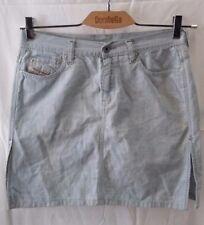 gonna donna jeans estiva puro cotone Diesel taglia 42