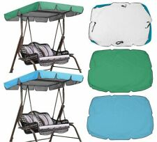 Replacement Canopy Spare Cover 2&3 Seater for Garden Swing Hammock Seat Sunshade