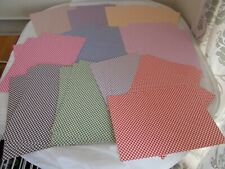 Diamond Check Checked Cardstock A4 Card for Cardmaking Craft 40 Sheets      A