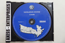 04 05 Volkswagen VW Touareg Navigation CD ©2003 Map 10: Canada AB BC MB ON QC SK