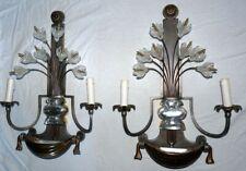 2 appliques art déco cristal bouquet de fleur BANCI Bagues italien