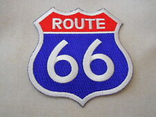 ROUTE 66 NEW IRON ON /SEW ON NAME PATCH  TAG