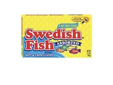 American Candy Sweets Import USA Swedish fish Theatre box Red 88g