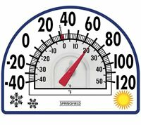 Springfield 91157 Static Cling Thermometer , New, Free Shipping