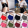Women Casual Running Sports Shorts Yoga Gym Jogging Summer Elastic Shorts Pants~