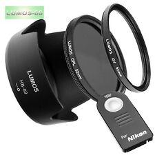 Controluce Mascherina hb-32 filtro UV è adatto a Nikon 18-105 18-140 VR Lumos Set 67mm