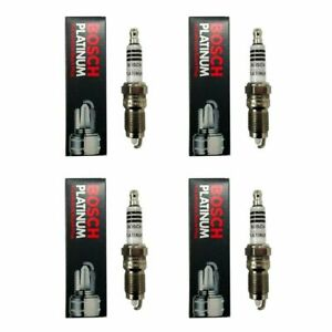 BOX of 4 Bosch Platinum 4212 Spark Plug NEW OLD STOCK FREE SHIPPING
