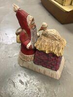 Kurt S. Adler Santa Stork Antique Bolinger