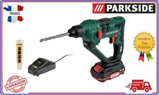 Parkside Marteau perforateur  Perceuse  Visseuse à Percussion 20v Batterie XTEAM