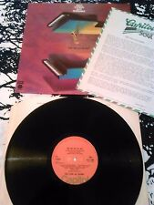 FIRST COSINS JAZZ ENSEMBLE - FOR THE COS ... LP 'FACTORY SAMPLE' + PROMO UK