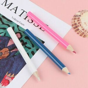 3pcs Tailor Chalk Pencils for Fabric Marking and Tracing Temporary Sewing