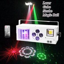 60W DMX LED Laser Bühnenlicht Effekt RGBW Disco DJ Home Party Licht Sound Aktiv
