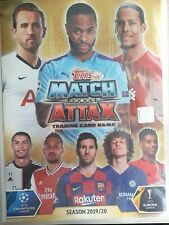 Match Attax 19/20 2019/20 full set of 256 cards + binder + LE1G + 15 Super Squad