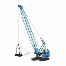 NZG > Liebherr HS855HD HC Hagemann Crawler Crane Die Cast Model, Blue [30204]