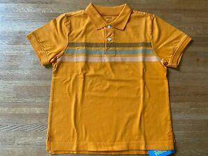 NWT Gymboree boys orange polo collar short sleeve shirt top 8 NEW see pics