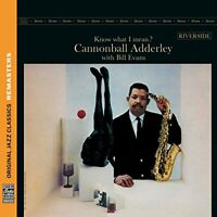 Cannonball Adderley - Know What I Mean? (OJC Remasters) (NEW CD)
