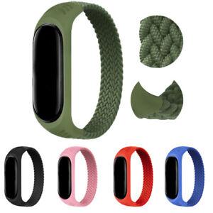 Nylon Wrist Strap Replacement Watchband Smart Band for Xiaomi Mi Band 6 5 4 3 AU