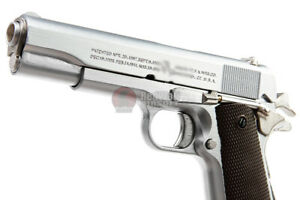 High Precision Mini Model Gun 1911 - Silver (Shell Eject) Display Only