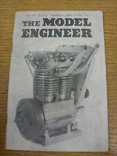 24/04/1952 revista el ingeniero Modelo: Vol. 106 no 2657 (arrugada)