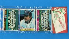 1979 Topps Baseball Christmas Rack Pack - L. A. Team Card On Top