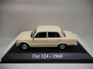 FIAT 124 1968 IXO RBA 1:43 (SEAT 124)