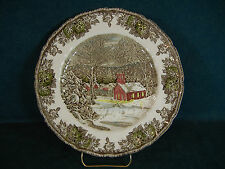 Johnson Brothers The Friendly Village Dinner Plate - The Schoolhouse - England
