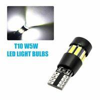 2 x Bombillas LED T10 12v Cree Luz Blanca Xenon Coche Interior Posicion CANBUS