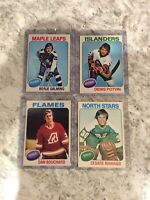 1975-76 O-Pee-Chee (OPC)  nm+ NHL SINGLES *READ DESCRIPTION*