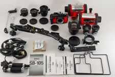 【FULL SET!!】Nikon NIKONOS V/15mm,20mm,28mm,35mm Lens/SB-105 More From Japan