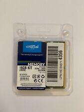 Crucial CT2K8G4SFS8266 16 GB Kit (8 GB x2) (DDR4, 2666 MT/s, PC4-21300