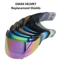 Gmax GM39Y GM48 GM58 GM68 GM69 Helmet Replacement Shield CLEAR Motorcycle Full