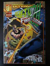 Break-Thru FireArm #4 VG/FN Ultravese Malibu Comics (C0045)