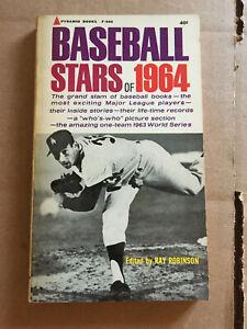 Baseball Stars of 1964 paperback first edition Sandy Koufax Mickey Mantle Spahn