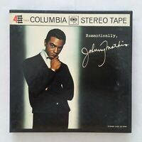JOHNNY MATHIS Romantically CQ600 Reel To Reel 7 1/2 IPS