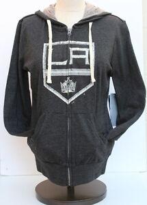 NHL Los Angeles Kings Women's Touch Teagan Full Zip Hoodie - Black