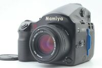 【NEAR MINT】 MAMIYA 645 AFD w/ AF 80mm f2.8 & 120 Film Back from JAPAN E-0423