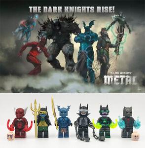 AFDB BRICK Dark Nights: Metal's Evil Batmen Custom Set. 6Pcs